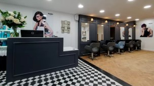 Rush Dorking's vintage salon interior