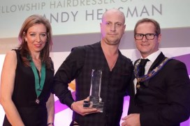 Andy Heasman British Hairdresser of the Year 2015