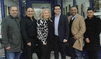 Rush West Hampstead franchisee Liliana with her husband and Rush Directors