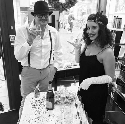 RUSH Cambridge Gatsby Party