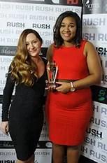 Shannida Belgrave (right)