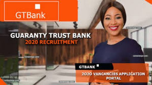 gtbank recruitment careers