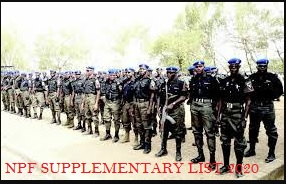 NPF supplementary list