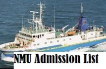 nmu admission list