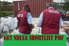 NDLEA shortlist candidates