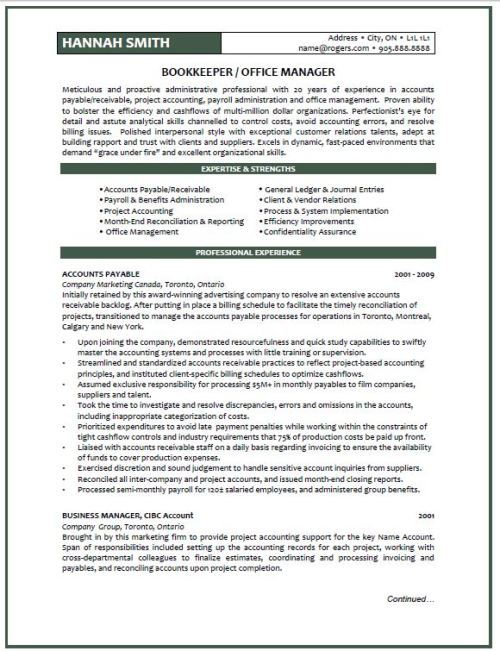 Karen Siwak Resume Confidential sample