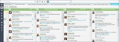 hootsuite screen