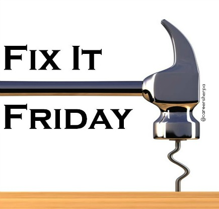 Fix It Friday