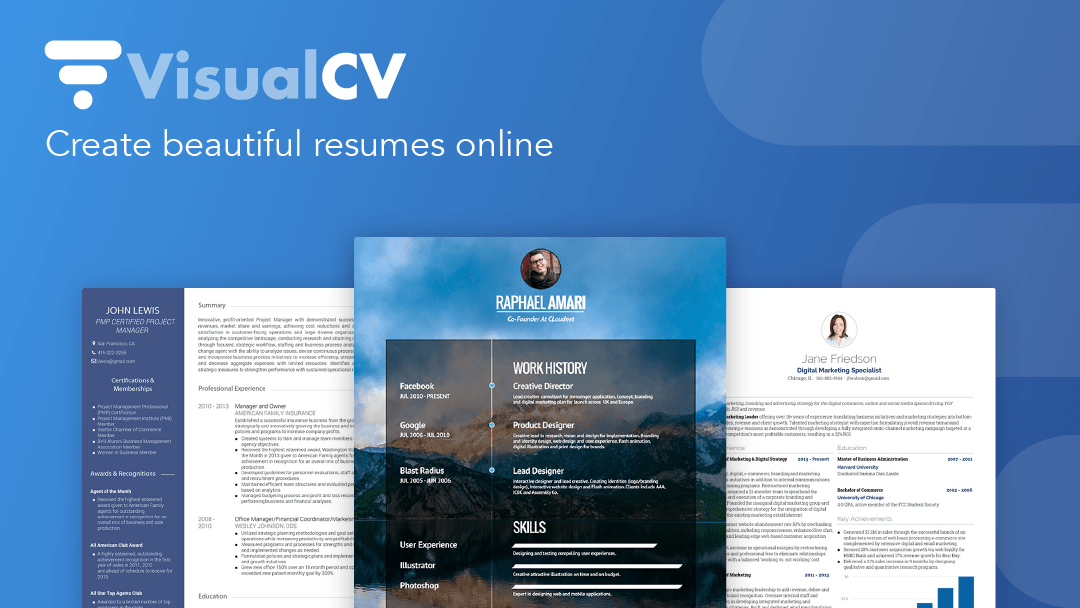 VisualCV: What You Need To Know | Career Sherpa