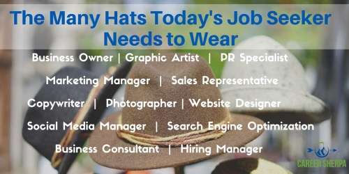 Many Hats Today's Job Seeker Needs to Wear