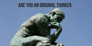 Original Thinkers Wanted