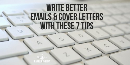 emails and cover letters
