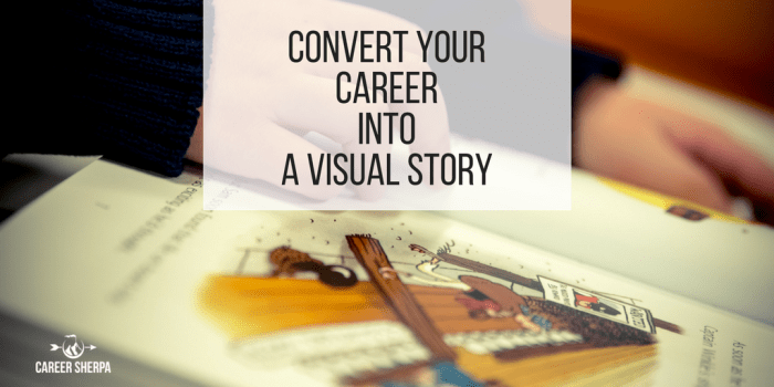 career into visual story