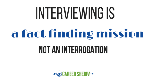 interviewing fact finding mission