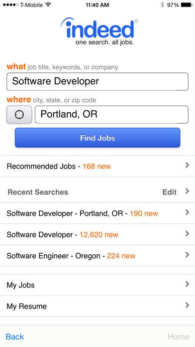 Job Search Apps To Str...