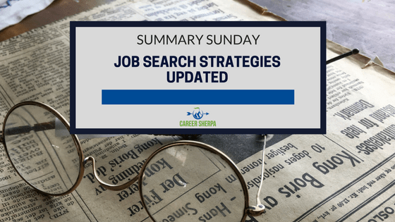 Job Search Strategies Updated