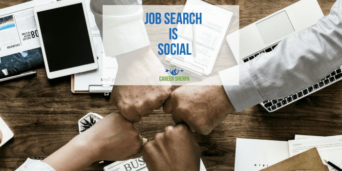 Job Search Is Social