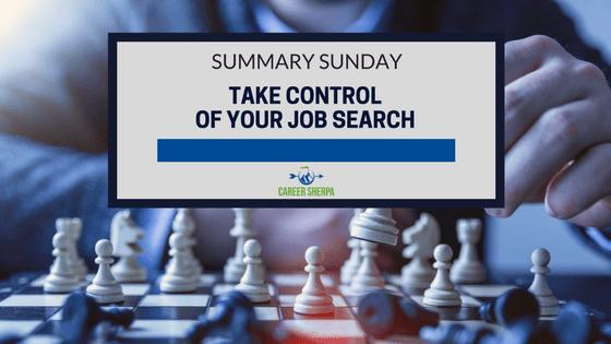take control of job search