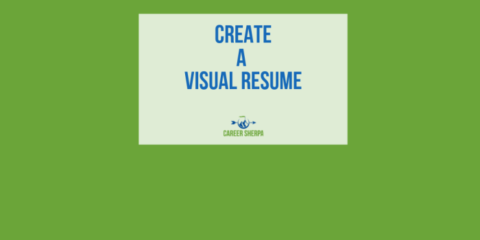 Demonstrate Your Social Prowess: Create a Visual Resume