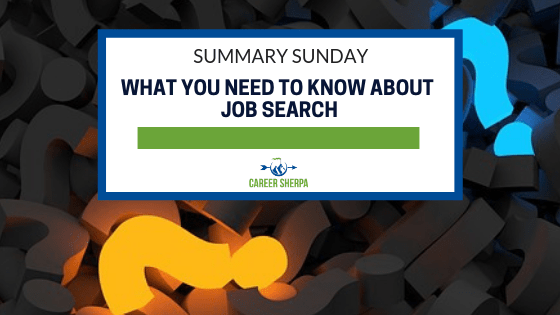 what you need to know about job search
