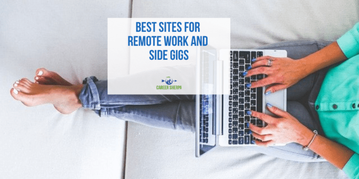 Best Sites for Remote Work and Side Gigs