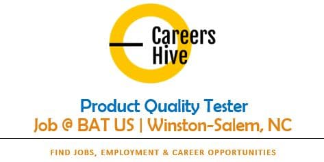 Product Quality Tester Jobs in Winston-Salem, NC | BAT Careers