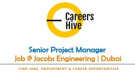 Senior Project Manager Jobs in Dubai at Jacobs Engineering