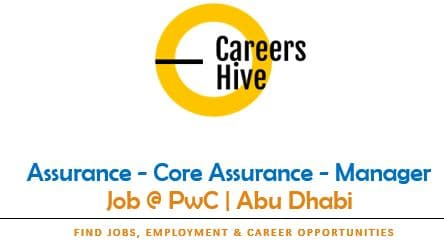 Assurance - Core Assurance Manager Jobs in UAE | PwC Vacancies 2021
