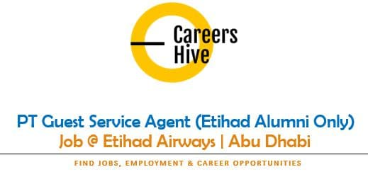 PT Guest Service Agent (Etihad Alumni Only) | Airline Jobs in UAE