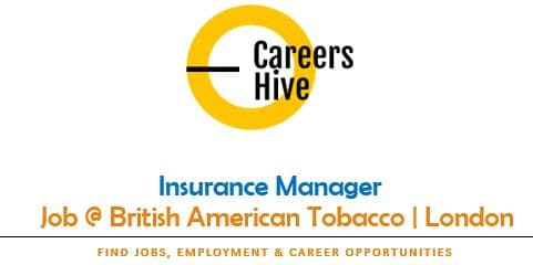 Insurance Manager Jobs in London | British American Tobacco