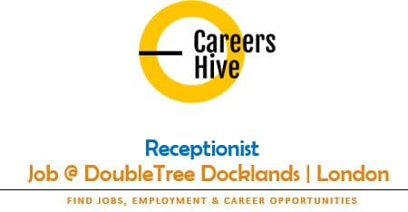 Hotel Receptionist Jobs in London at DoubleTree Docklands
