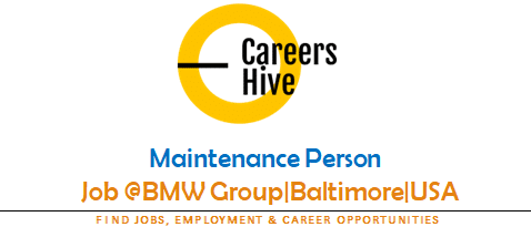 Maintenance Person | BMW Group Jobs in Baltimore