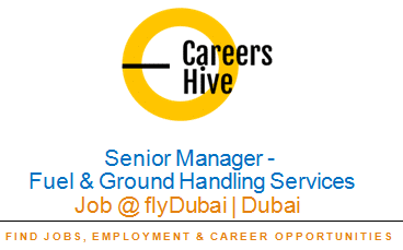 Senior Manager – Fuel and Ground Handling Services | flyDubai Careers