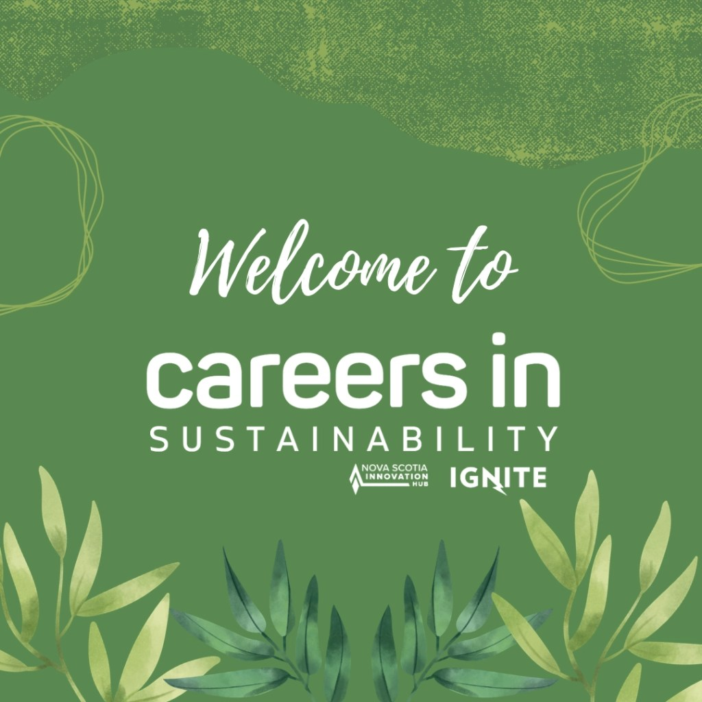 Welcome to Careers in Sustainability