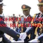 Nigerian Airforce DSSC Recruitment