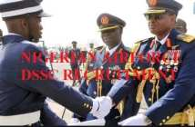 Nigerian Airforce DSSC Recruitment