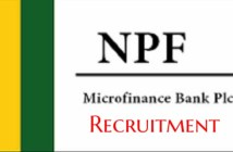 NPF Microfinance Bank Recruitment