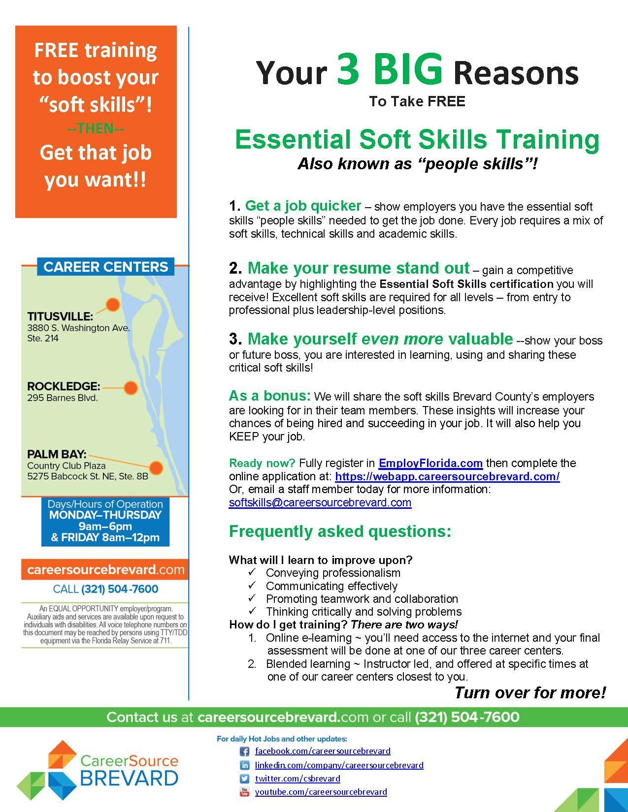 Essential Soft Skills Training