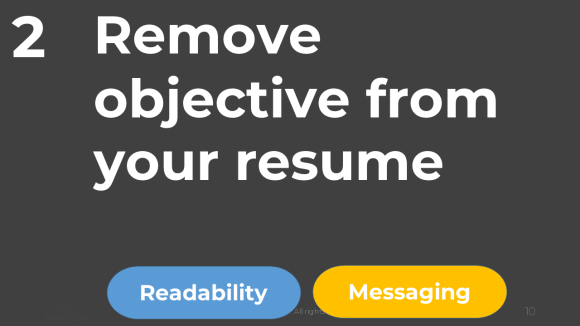 Remove Objective