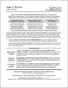 Value Proposition Examples For Resume
