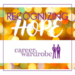 Annual Recognizing Hope Event Honors Career Wardrobe's Client Accomplishments & Volunteer Contributions