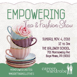 Great Shots from Career Wardrobe's 2018 Empowering Tea & Fashion Show