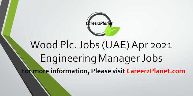 Engineering Manager Jobs 01 Apr 2021
