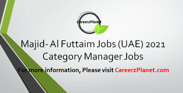 Category Manager Jobs in UAE 30 Mar 2021