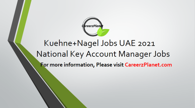 National Key Account Manager- Automotive and New Mobility Jobs in UAE 15 Apr 2021