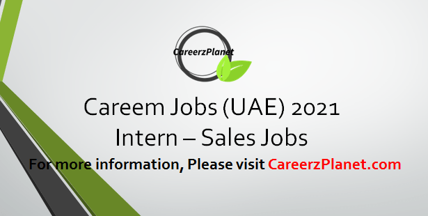 Intern - Sales Jobs in UAE 08 Apr 2021