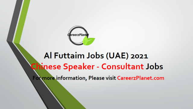 Chinese Speaker - Fashion Consultant Jobs in UAE 25 Apr 2021