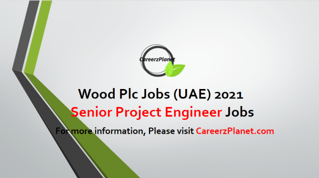 Senior Project Engineer Jobs 24 Apr 2021