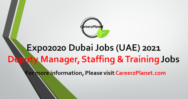 Deputy Manager Jobs in Dubai 25 Apr 2021