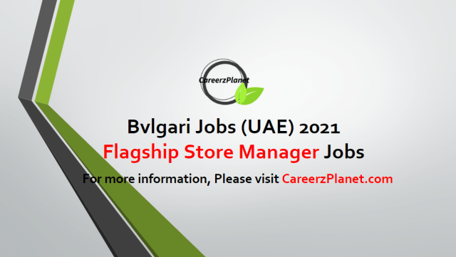 FLAGSHIP STORE MANAGER Jobs in Dubai 19 Apr 2021